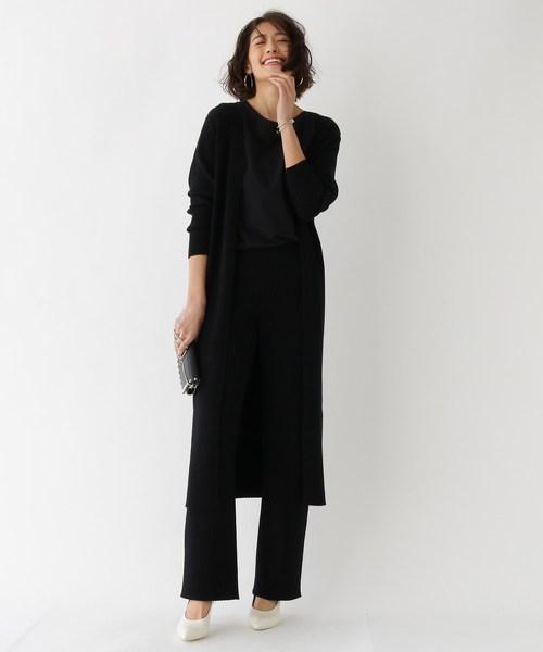[aquagirl] 無縫製リブニットパンツ