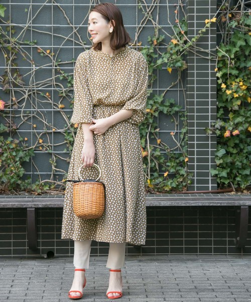[URBAN RESEARCH ROSSO WOMEN] 小花柄ワンピース