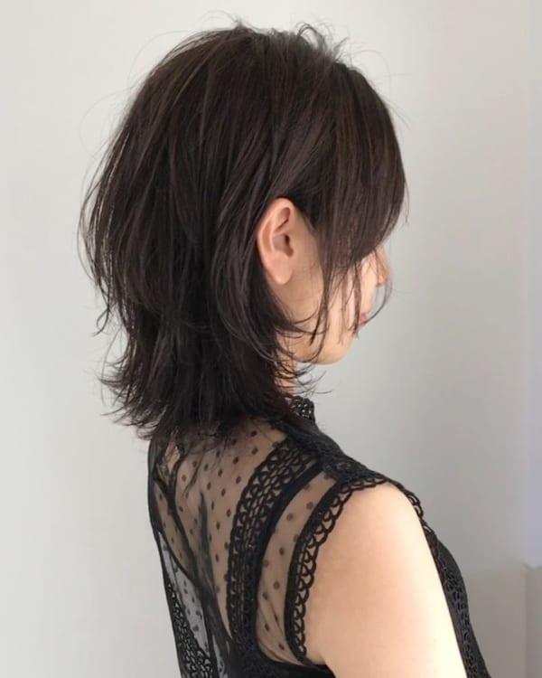 アラフィフに人気の髪型 ミディアム3