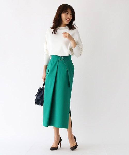 [aquagirl] ノスタルジアチノラップスカート