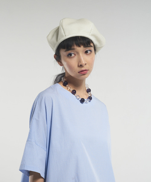 [ANREALAGE] BLUE PHOTOCHROMIC BERET