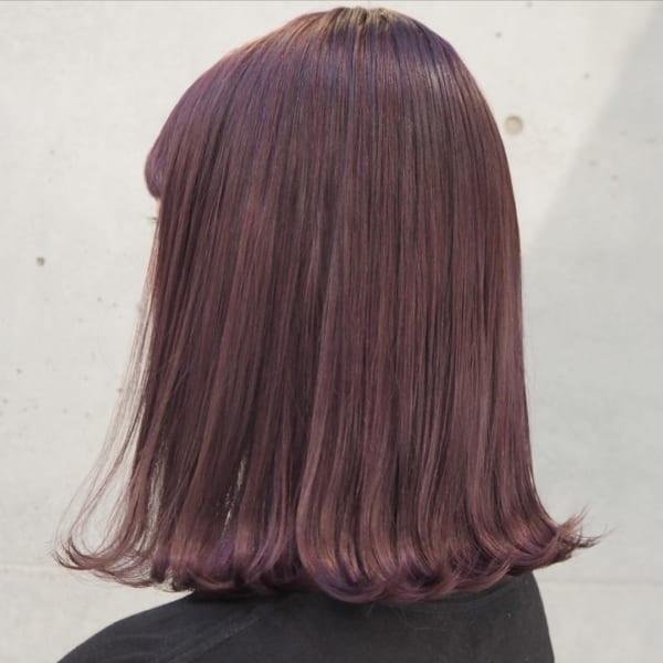【2019】流行のピンク系ヘアカラー45