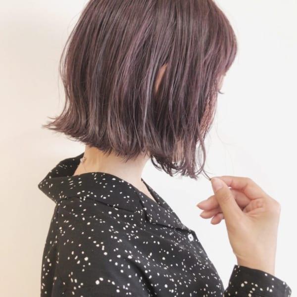 【2019】流行のピンク系ヘアカラー40