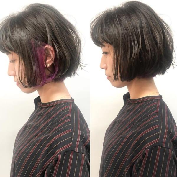 【2019】流行のピンク系ヘアカラー18