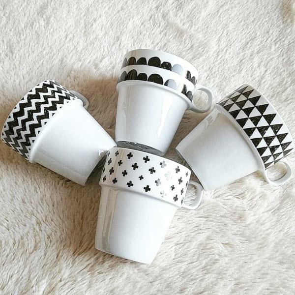 セリア・ダイソー・キャンドゥのおしゃれなマグカップ8
