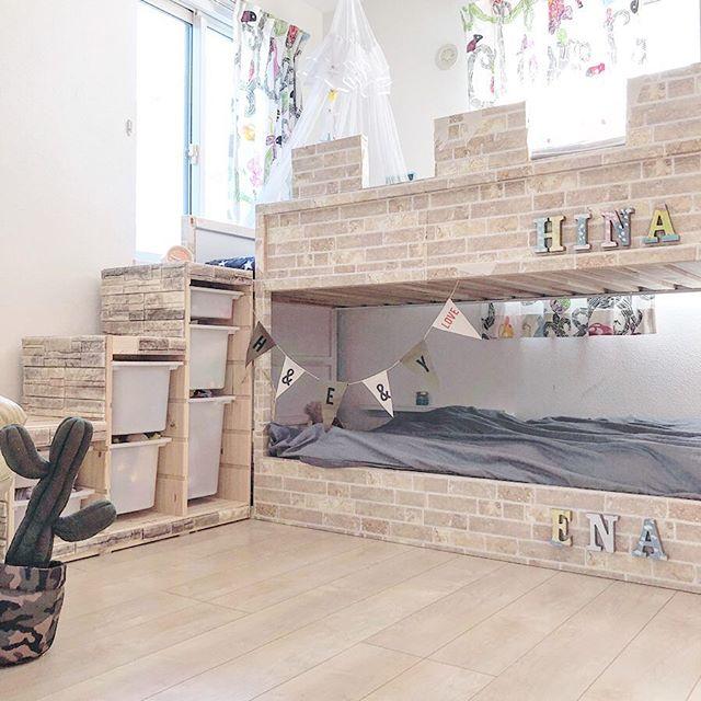 ベッドがメインの子供部屋