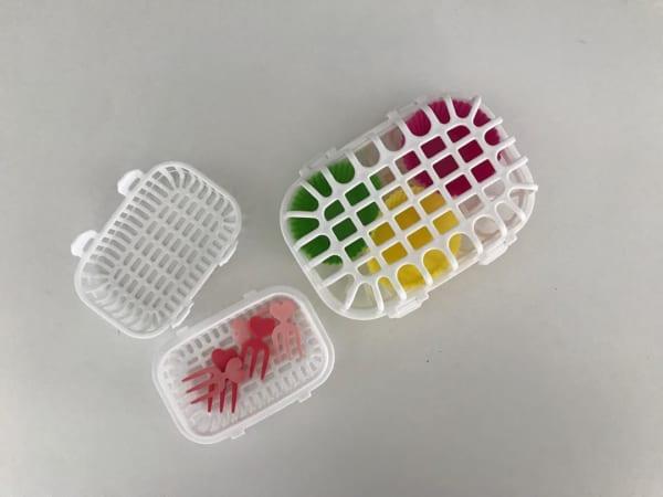セリア 食洗機用小物カゴ