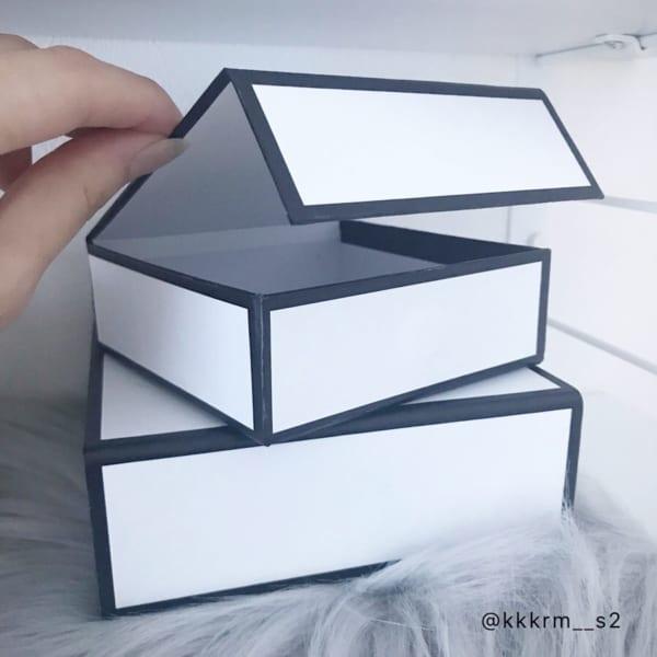 キャンドゥのペーパーボックス