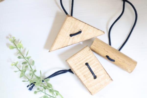 木材を使ったおしゃれなヘアゴムの作り方♪8