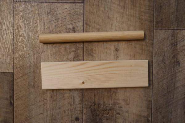 木材を使ったおしゃれなヘアゴムの作り方♪