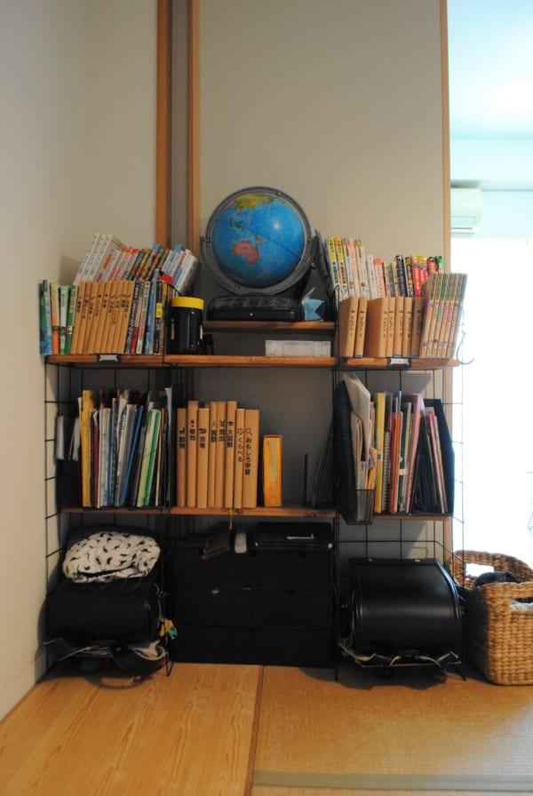 子どもが自分で片づけられる仕組み作り 学校用品収納