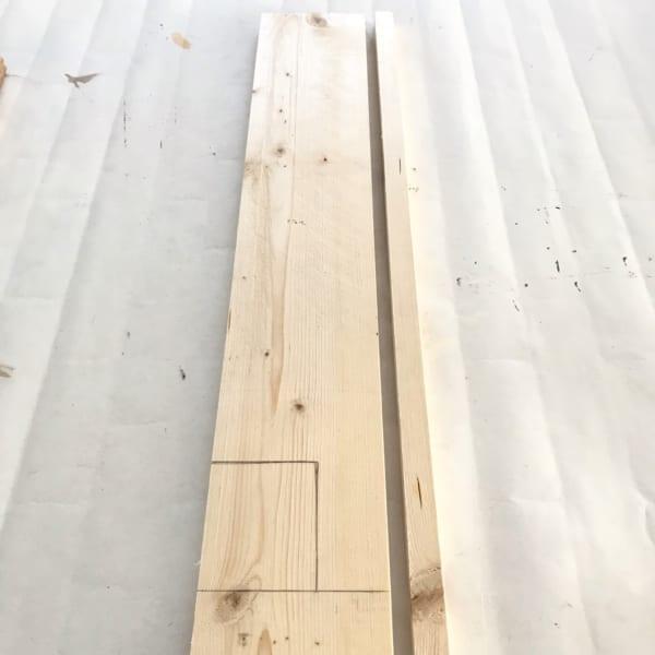 防水パンを隠すカバーを作ります3