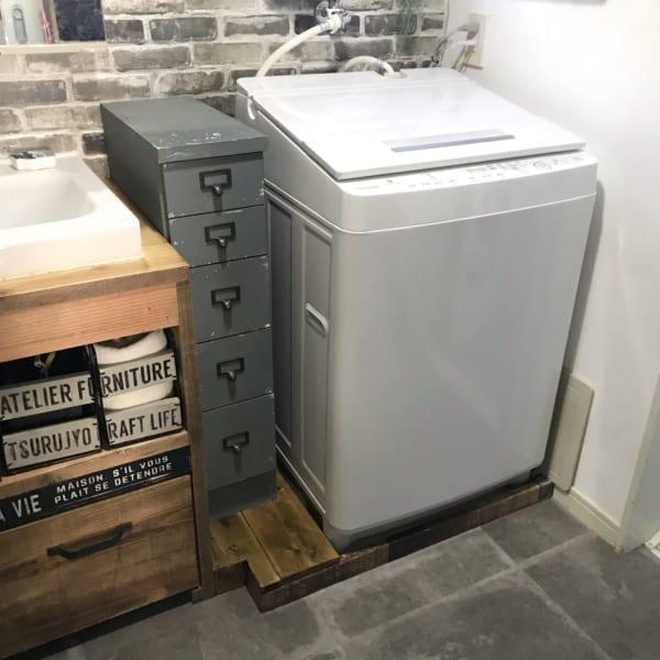 洗濯機の防水パンに見た目も機能性もアップするカバー