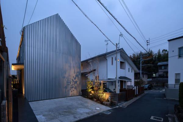 シンプルな外観のデザイナーズ住宅5