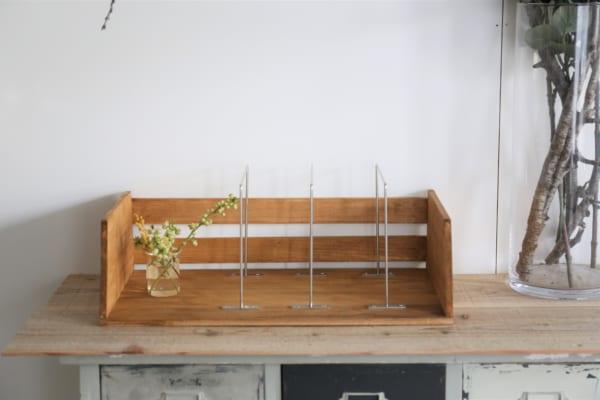 古道具のような風合いのブックシェルフの作り方11