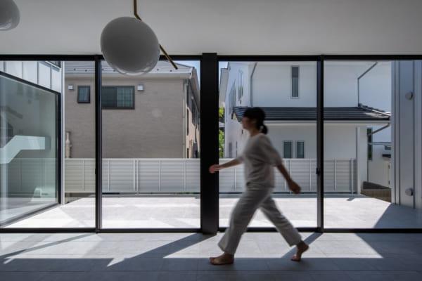 シンプルな外観のデザイナーズ住宅2