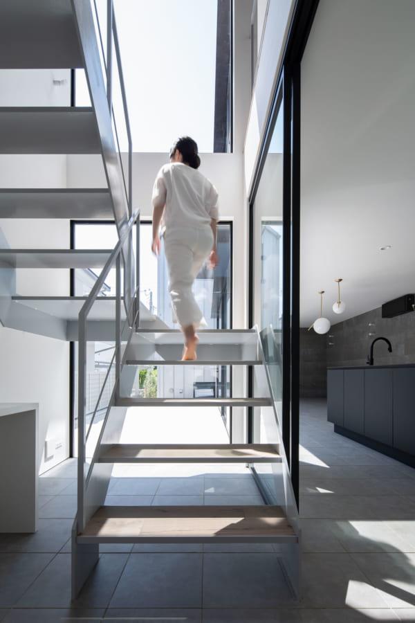 シンプルな外観のデザイナーズ住宅3