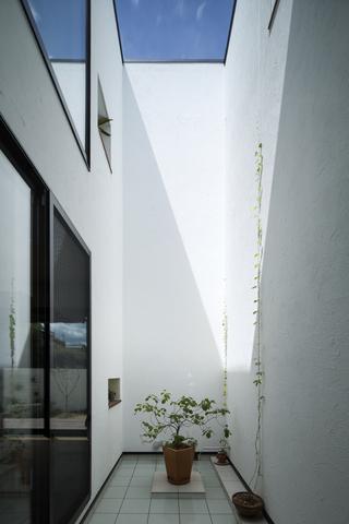 中庭のあるデザイナーズ住宅4