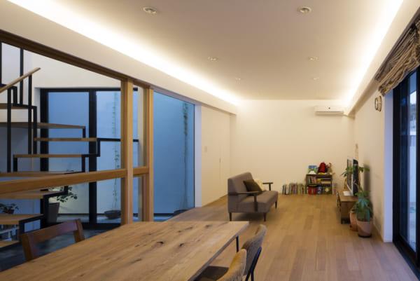 中庭のあるデザイナーズ住宅5