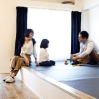 家族の小上がりと朝型生活