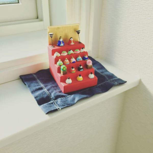 雛人形 ディスプレイ トイレ