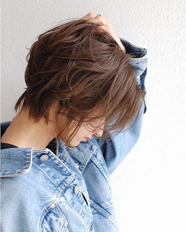 くせ毛ショート2
