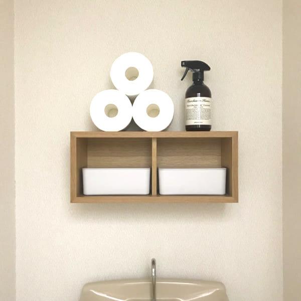 トイレ 無印良品 壁に付けられる家具2