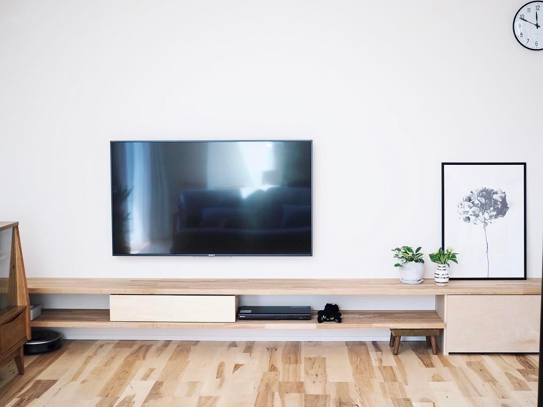 壁掛けテレビの配線を隠す方法14