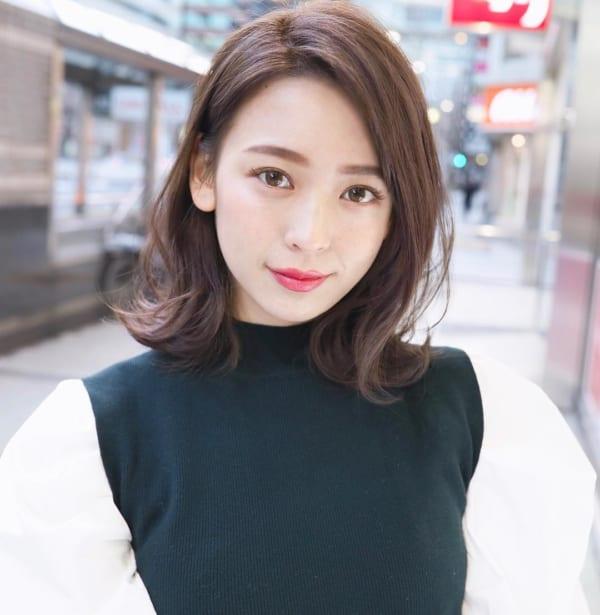ミセス 髪型 ミディアム6