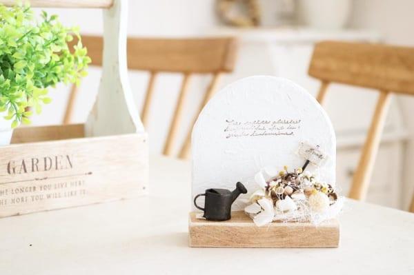 ハンドメイド 花壇モチーフ