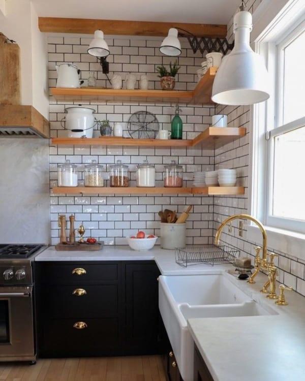 海外のキッチンインテリア 収納