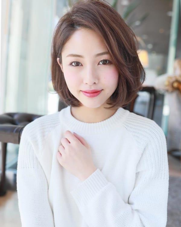 ミセス 髪型 面長2