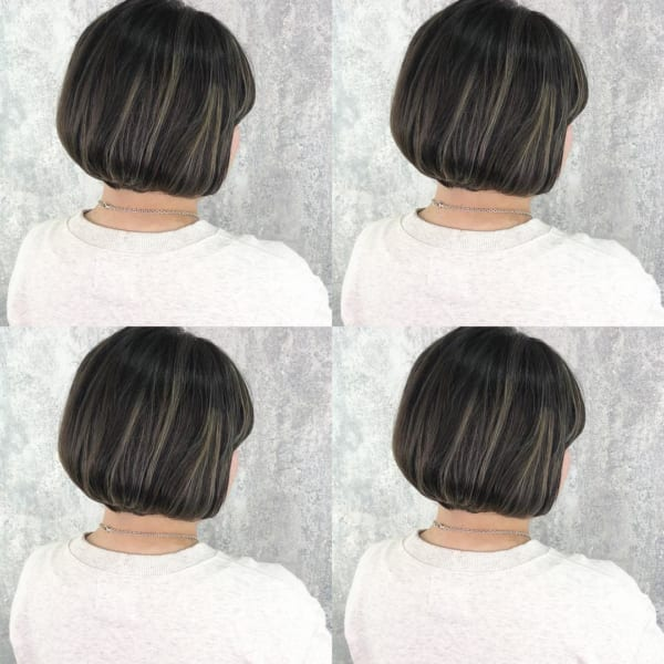 黒髪×ハイライト10