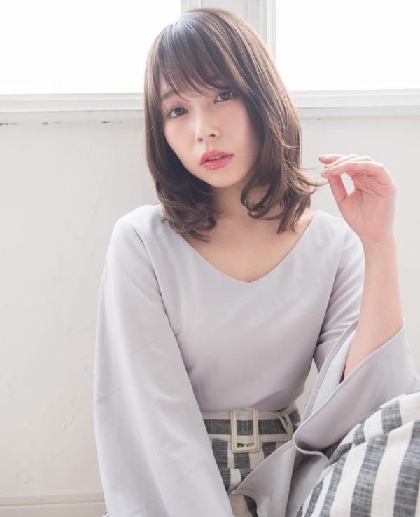 ミセス 髪型 ミディアム