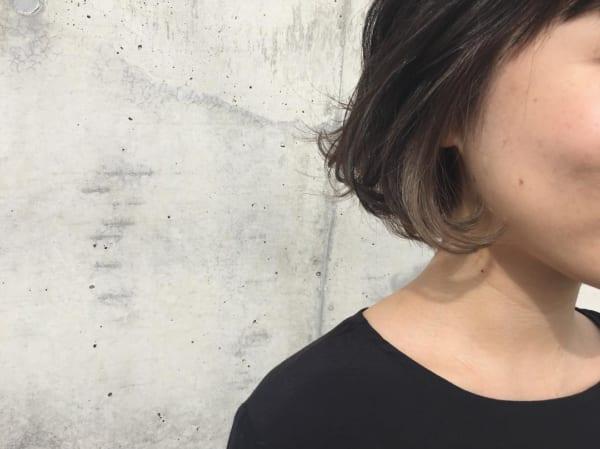 黒髪×ハイライト11
