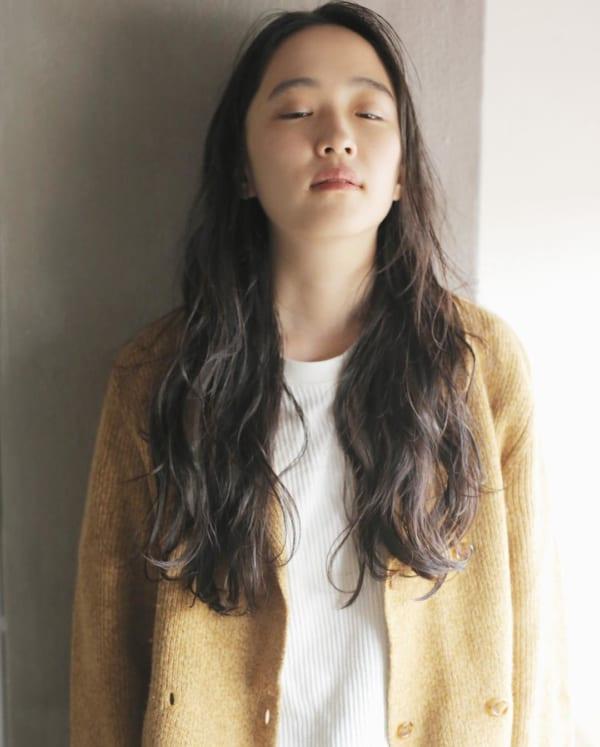 かっこいいジェンダーレスな髪型③ロングヘア3