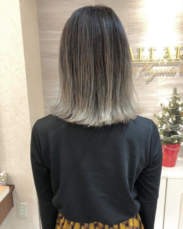 黒髪×ハイライト12