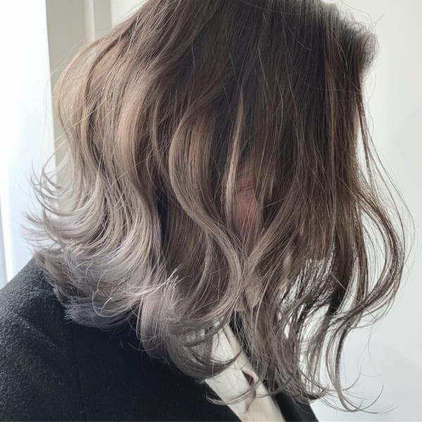 黒髪×ハイライト13