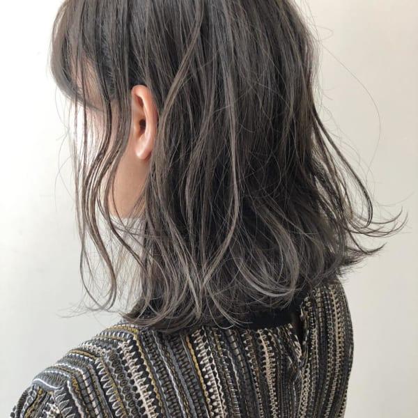 黒髪×ハイライト14