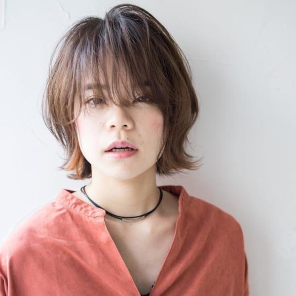 かっこいいジェンダーレスな髪型④ボブヘア3