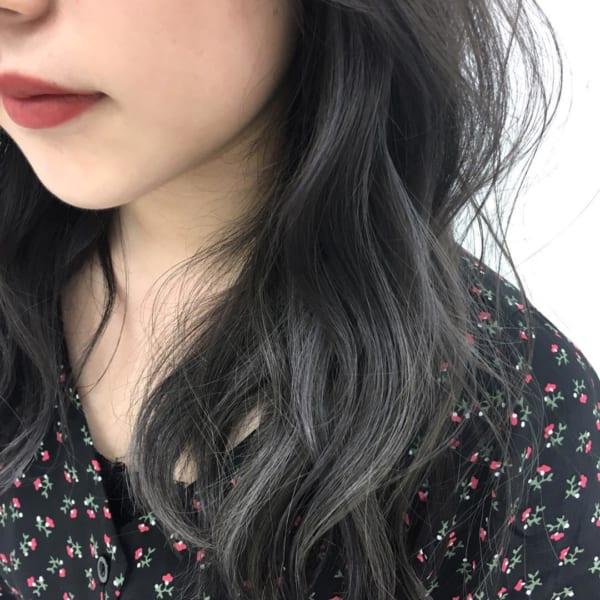 黒髪×ハイライト15