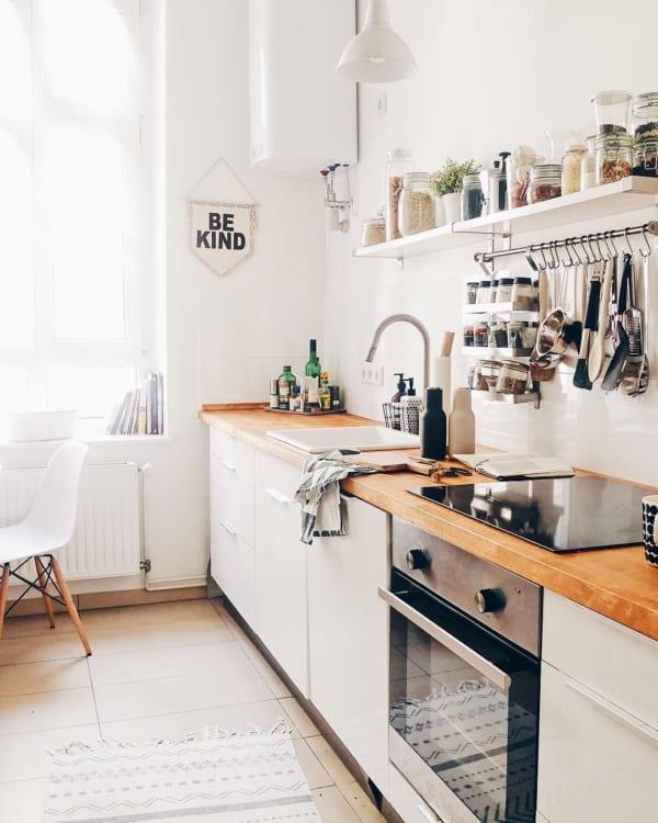 海外のキッチンインテリア 収納7