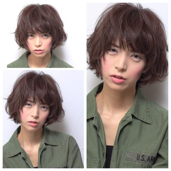 かっこいいジェンダーレスな髪型④ボブヘア4