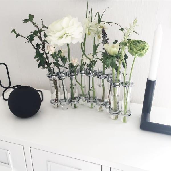 お花 ディスプレイ ツェツェ風花器