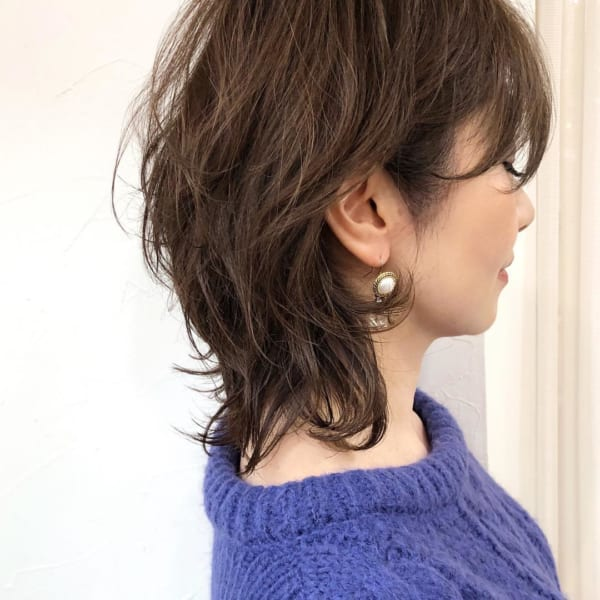 アラフィフに人気の髪型 ミディアム4