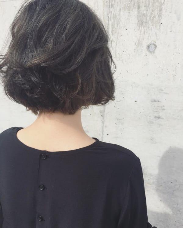 黒髪×ハイライト19