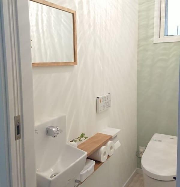 トイレ 無印良品 壁に付けられる家具3