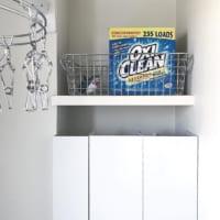 【セリア・ニトリ・無印良品】を活用!掃除グッズ&ストック用品を収納しよう