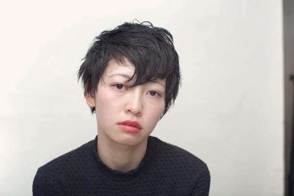 かっこいいジェンダーレスな髪型①ショートヘア2