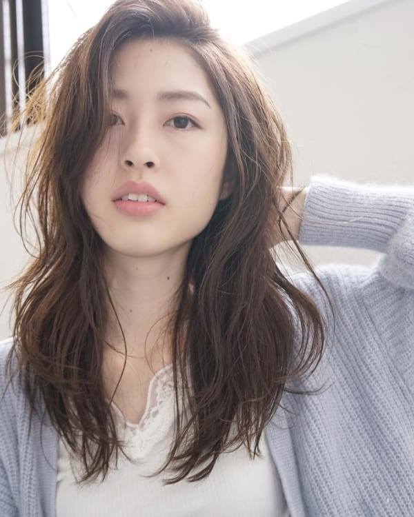 ミセス 髪型 ロング